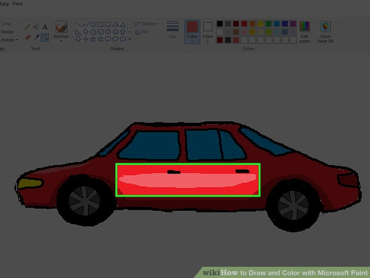 Drawn vehicle ms paint With Image Microsoft 6 Color