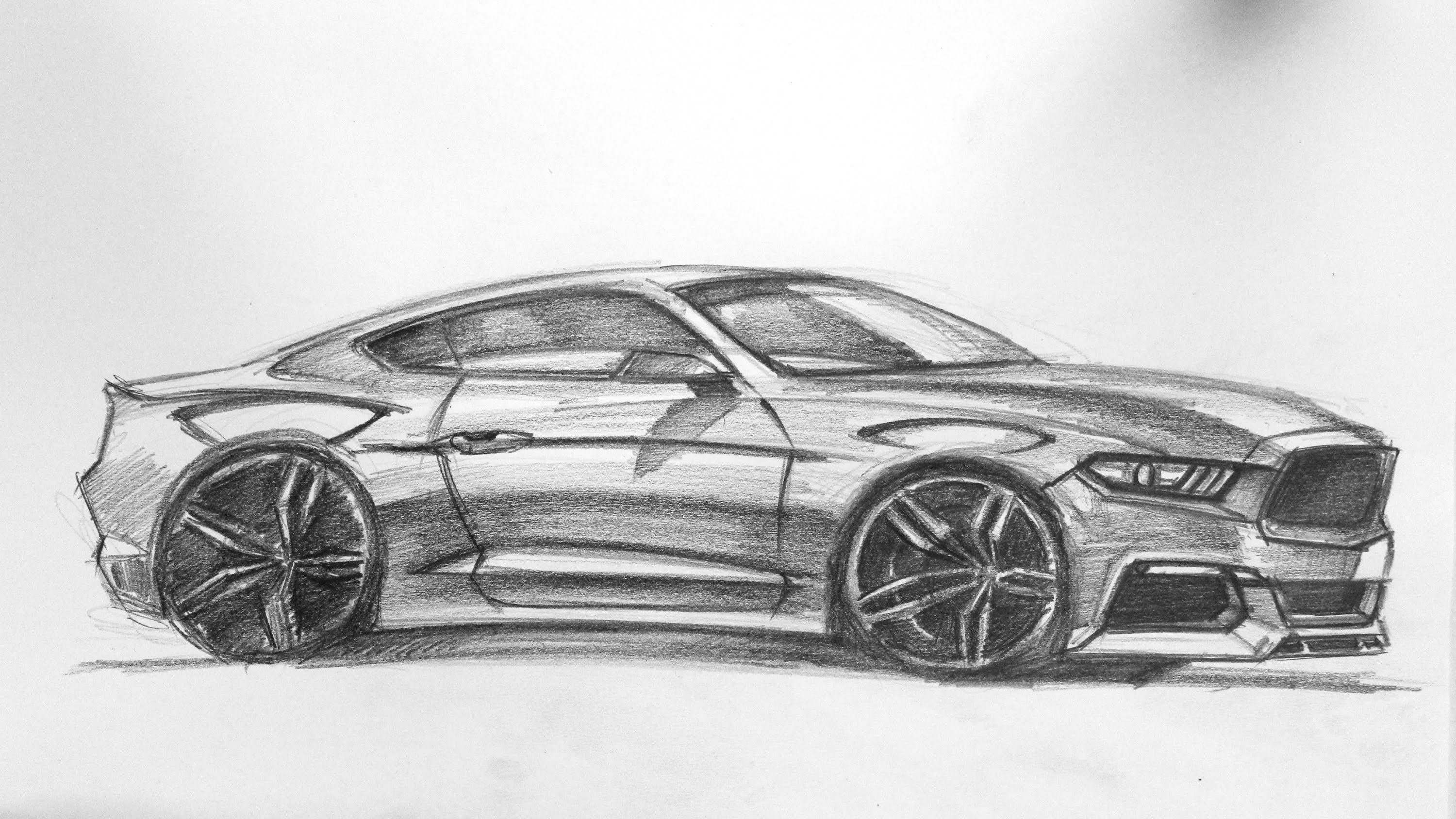 Drawn vehicle mustang gt Mustang 2015 Ford Mustang 2015
