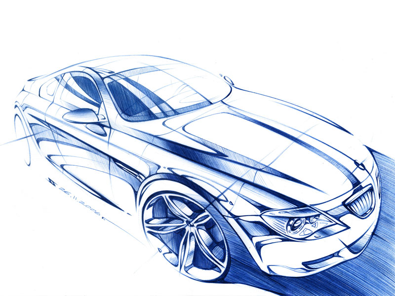 Drawn vehicle pen On sketch best this Behance