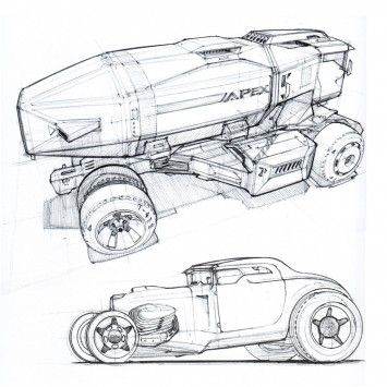 Drawn vehicle pen By images Pinterest Ballpoint about