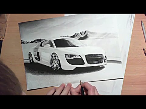 Drawn vehicle pencil for kid  Drawing Speed Zeichnung pencil