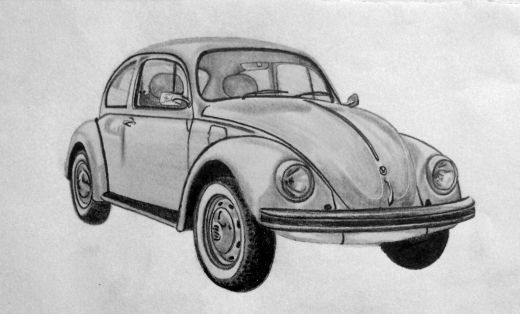 Drawn vehicle pencil for kid To cars Graphite pencil easy