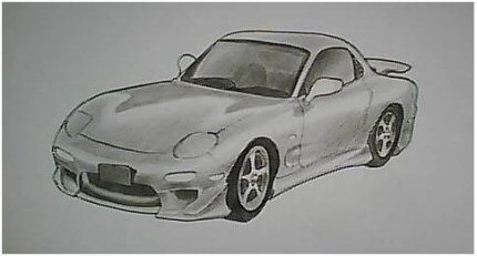 Drawn vehicle pencil shading Draw shadow draw our How
