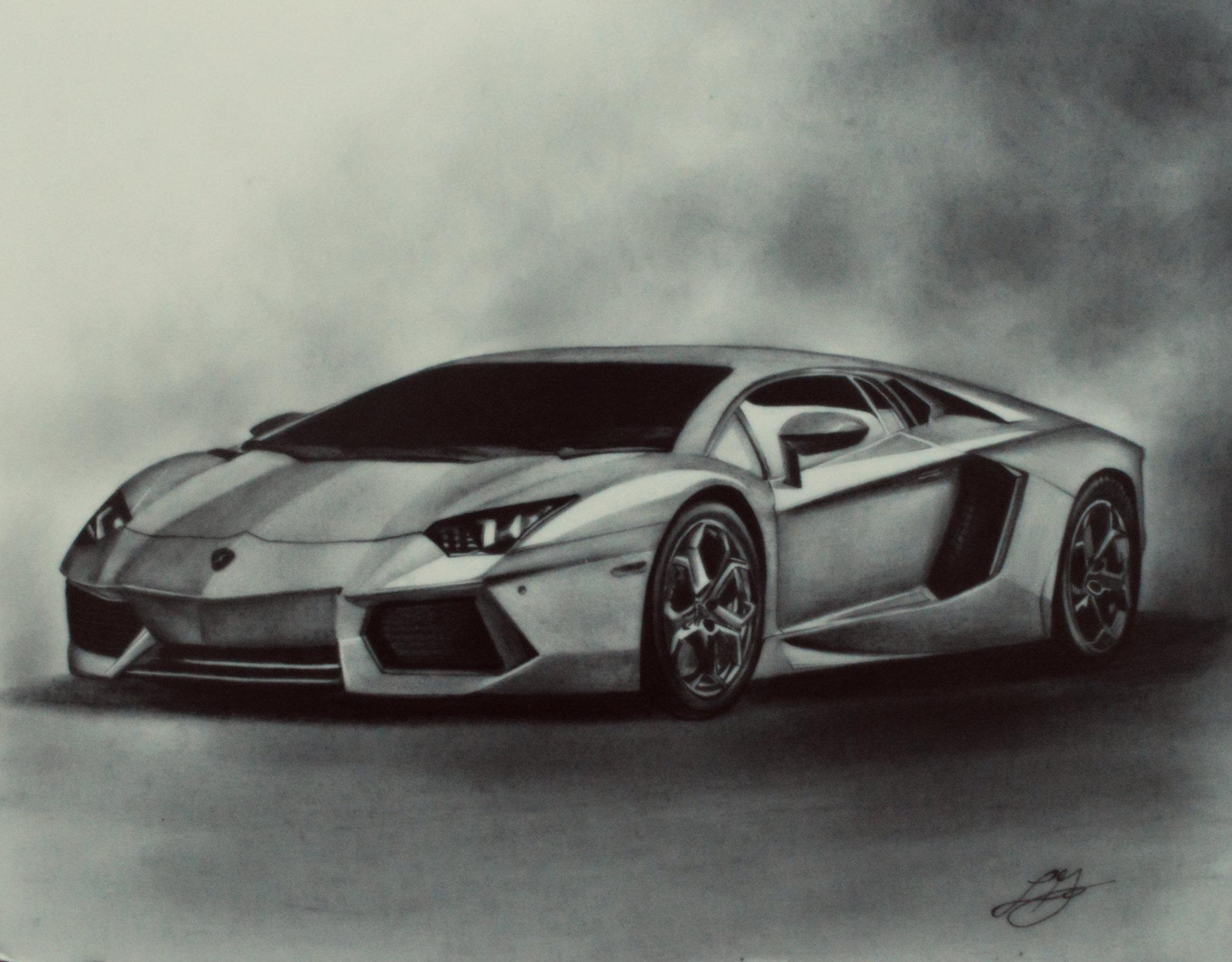 Drawn vehicle pencil shading Drawings Drawings drawing car Car