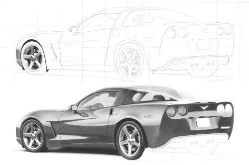Drawn vehicle pencil shading On Clever  to Draw