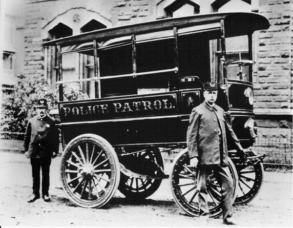 Drawn vehicle police car Car History the the Neatorama