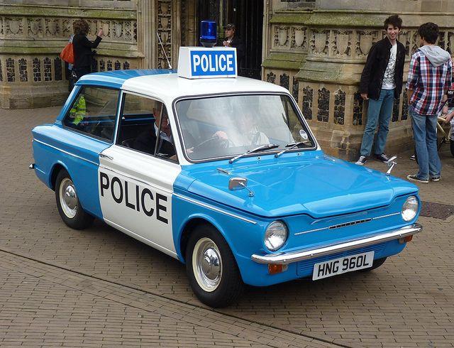 Drawn vehicle police car 1320 Police I (Corgi best