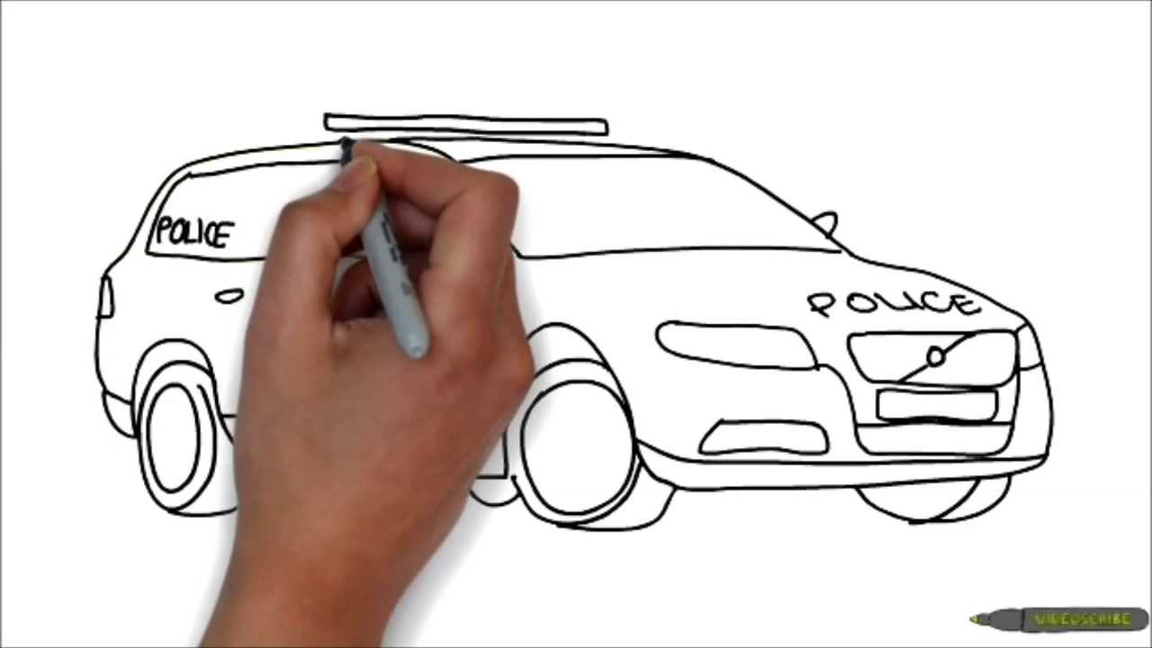 Drawn vehicle police car Car ProGamicLive? Minute a YouTube