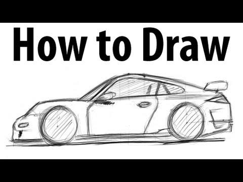Drawn vehicle porsche Draw a it GT3 draw