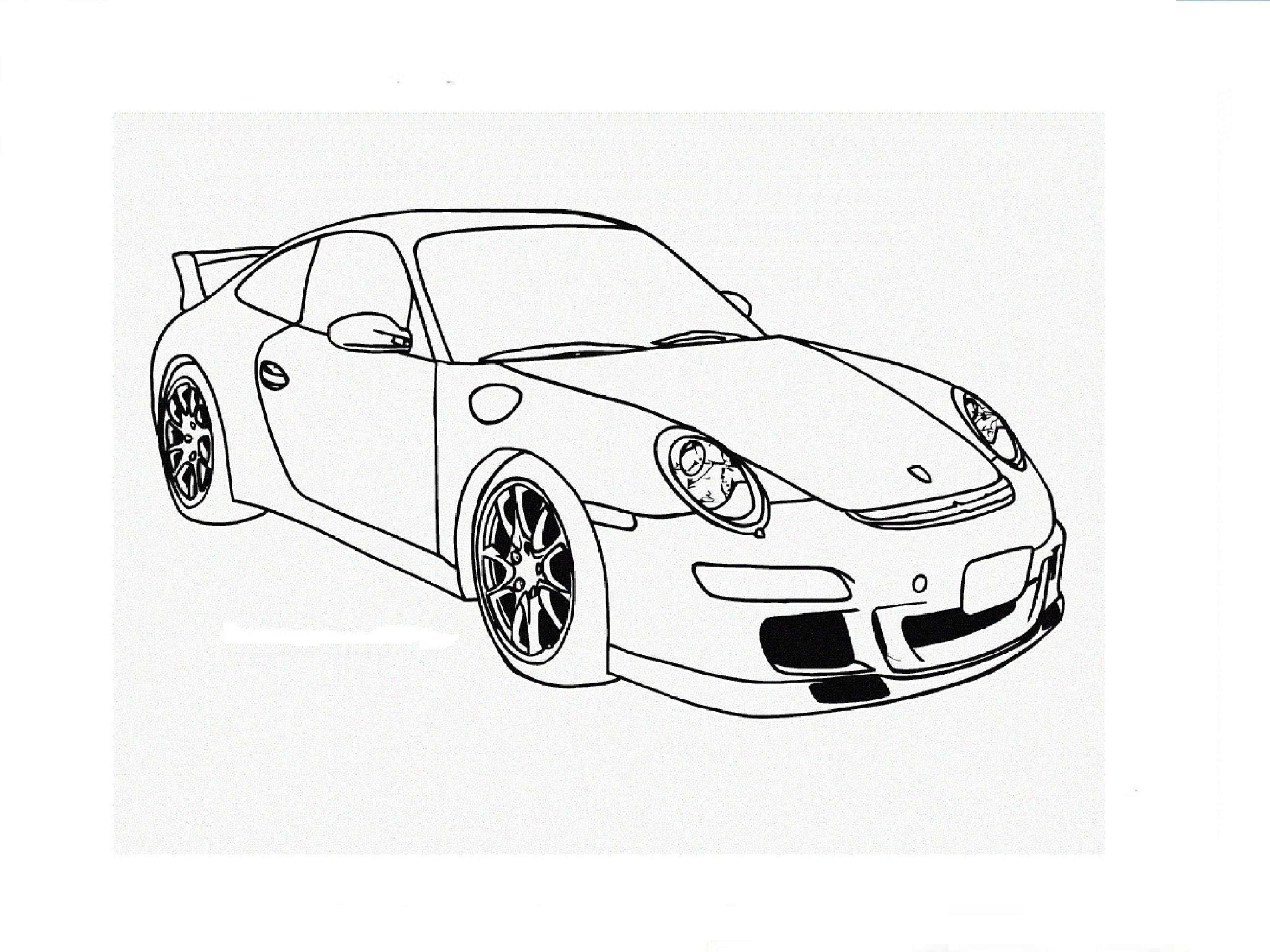 Drawn vehicle porsche 911 Быстрое рисование Porsche Speed 911