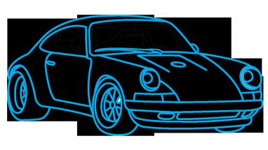 Drawn vehicle porsche 911 To Draw Step step 911