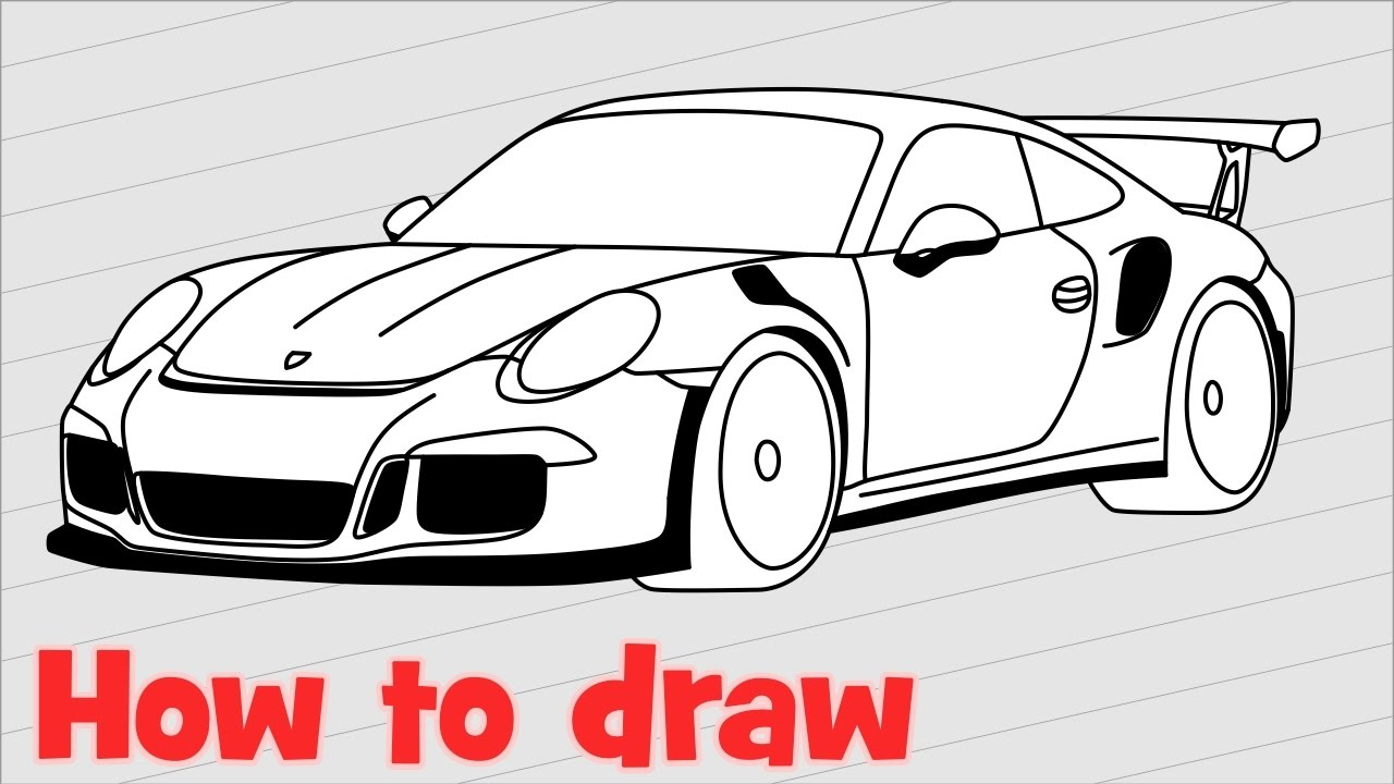 Drawn vehicle porsche 911 To draw  to from