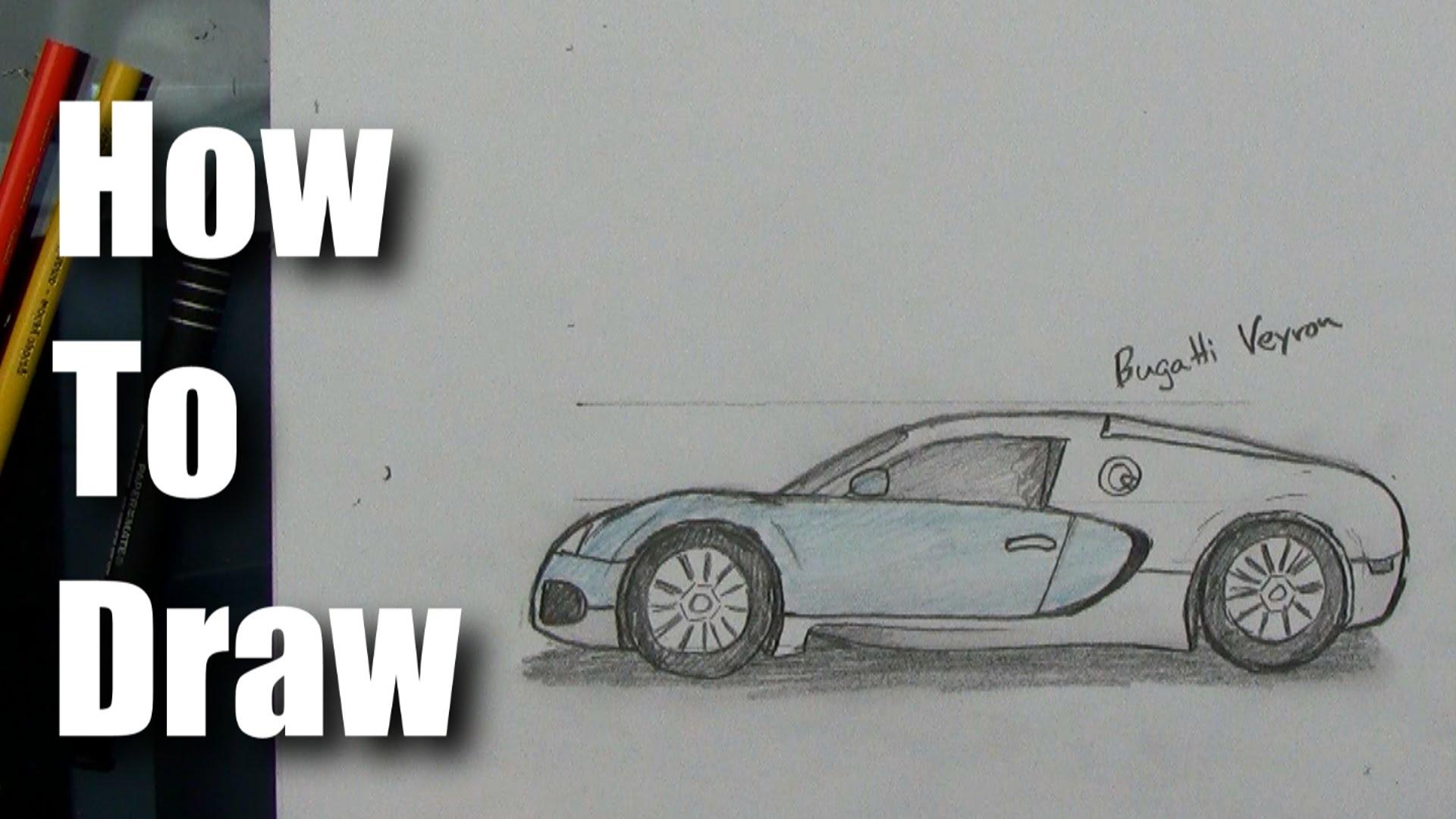 Drawn ferarri epic car Sports How Bugatti Veyron Car