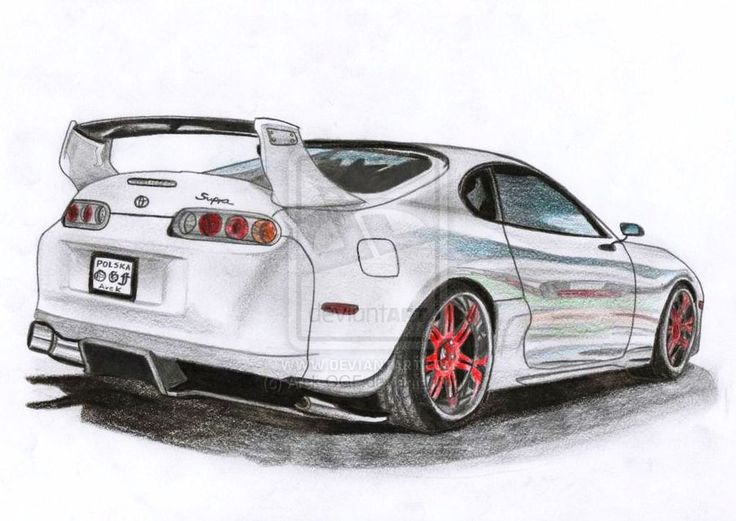 Drawn vehicle supra On 16 best draw's drawings