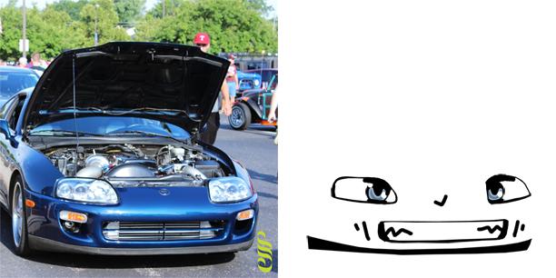 Drawn vehicle supra Supra Drawn Toyota Faces Car