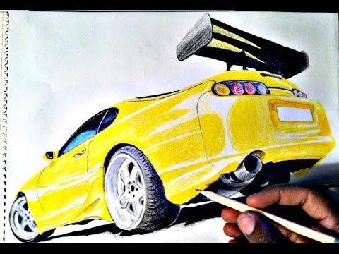 Drawn vehicle supra Supra) HOW TO  Car