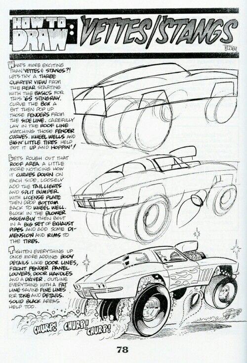 Drawn vehicle top view Ideas on Pinterest George Trosley
