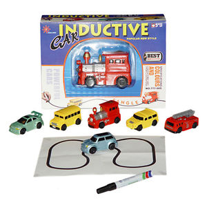 Drawn vehicle toy car Follow Drawn Line Magic Bus