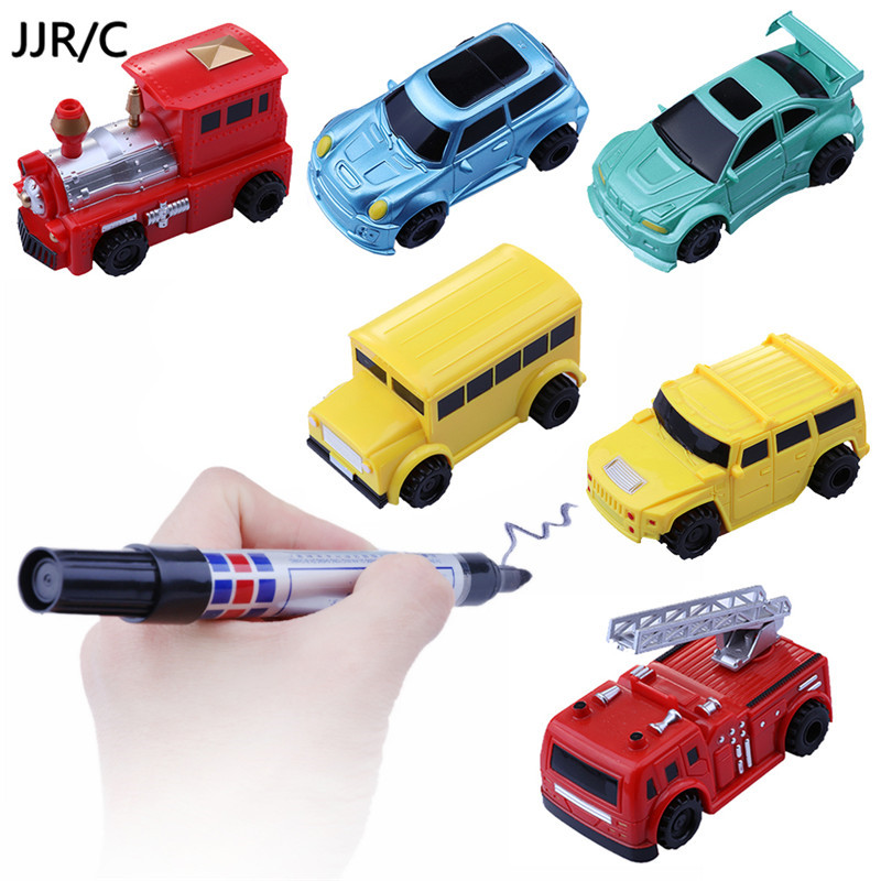 Drawn vehicle toy car Induction Pen Drawn Mini Truck