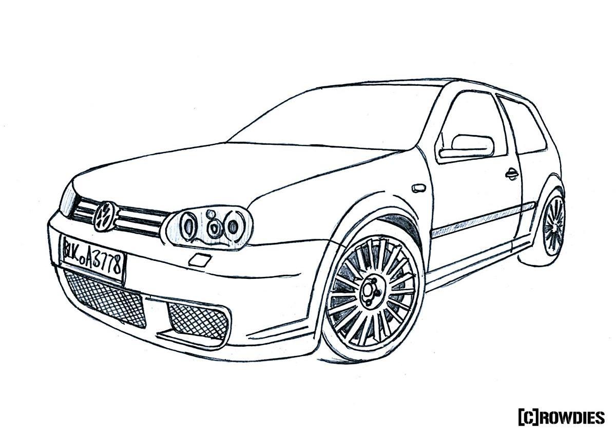 Drawn vehicle tuned car Pinterest #drawing #zeichnung #zeichnung drawing