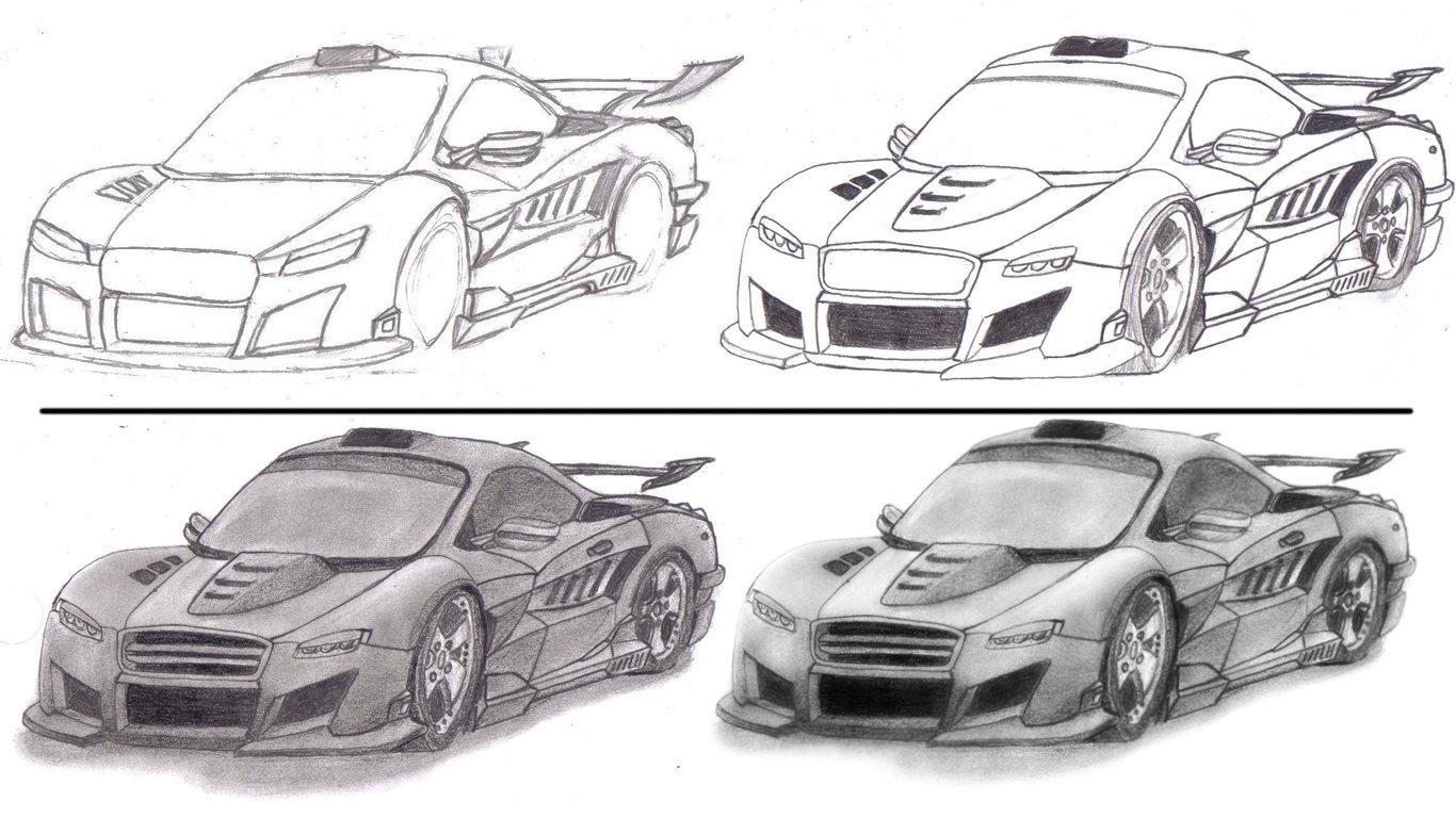 Drawn vehicle tuned car Tuner VeilSide NOSThrillZ NOSThrillZ inspired