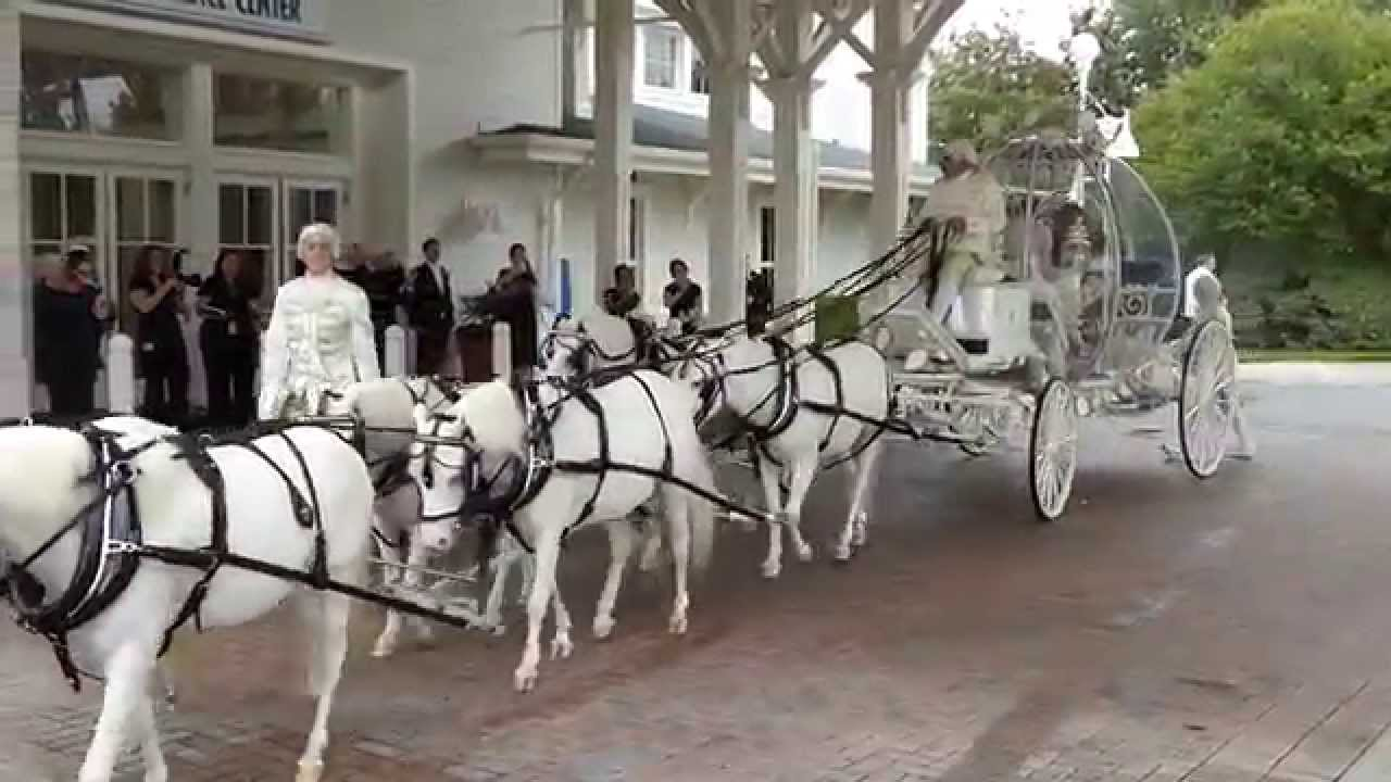 Drawn vehicle vehicle Disney Wedding:  YouTube Cinderella