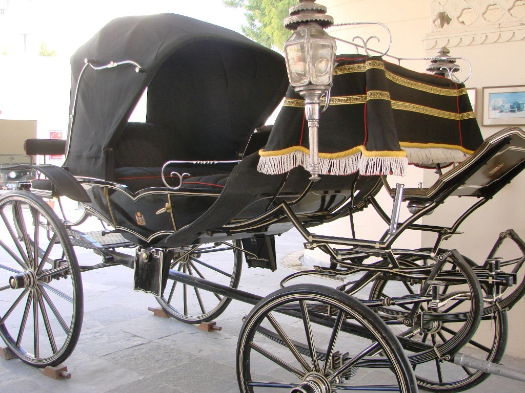 Drawn vehicle vintage car Udaipur Museum Must carriage Enthusiasts