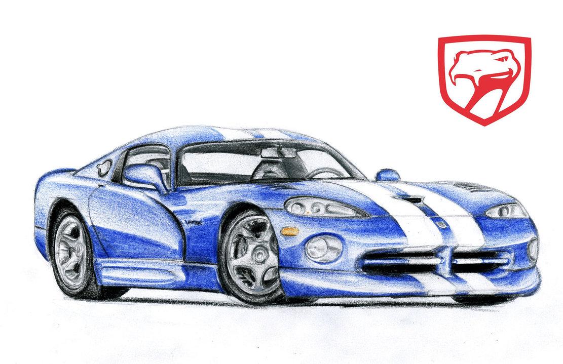 Drawn vehicle viper Viper GTS Dodge Cardesign Viper