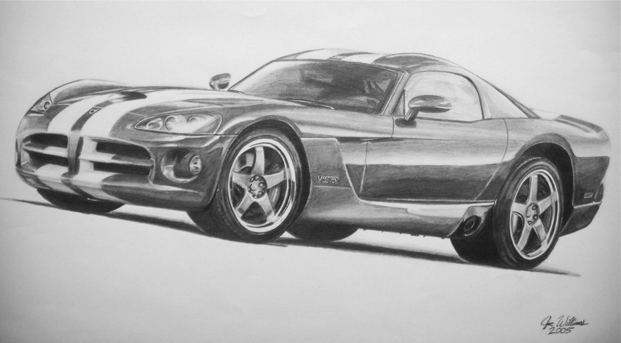 Drawn vehicle viper Viper GTS Dodge industrialrevelation Viper