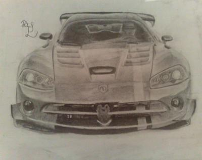 Drawn vehicle viper Was the good Drawings The