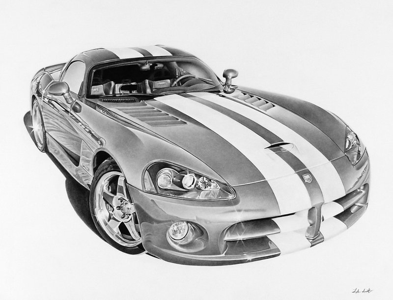 Drawn vehicle viper 11x14 graphite ply A pages