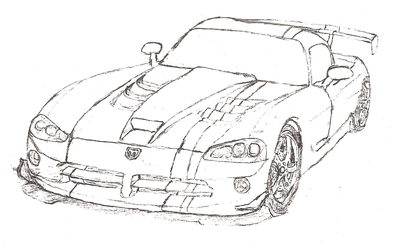 Drawn vehicle viper Drawing customers All I that