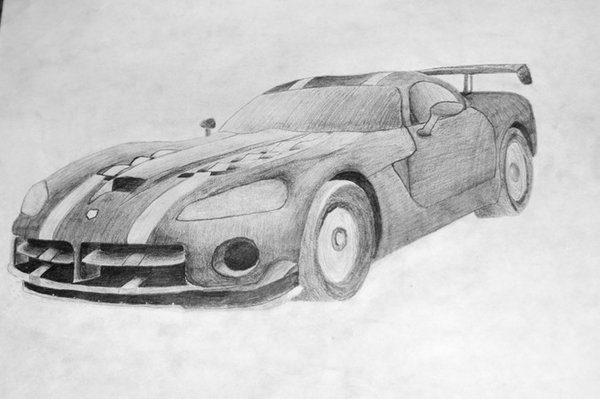 Drawn vehicle viper Viper by Dodge underseagalaxies underseagalaxies