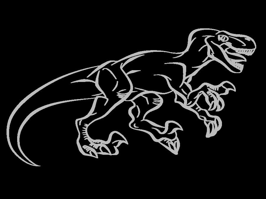 Drawn velociraptor Art Line lionheart214 Velociraptor DeviantArt