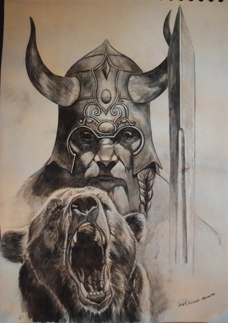 Drawn viking Images Drawing Pencil Photo Realistic