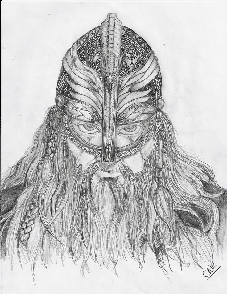 Drawn viking Pinterest drawing Vikings Medieval drawn