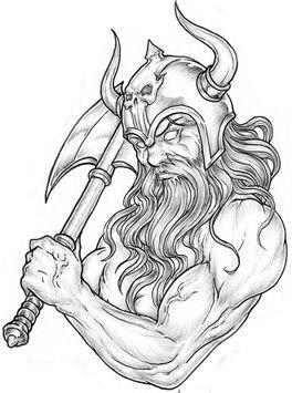 Drawn viking airbrush On best Pinterest 66 Tattoo