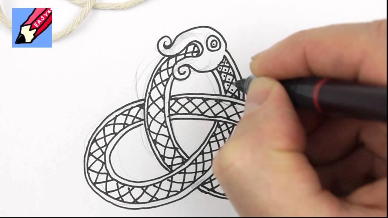 Drawn snake celtic knot How Knots to Snake Celtic