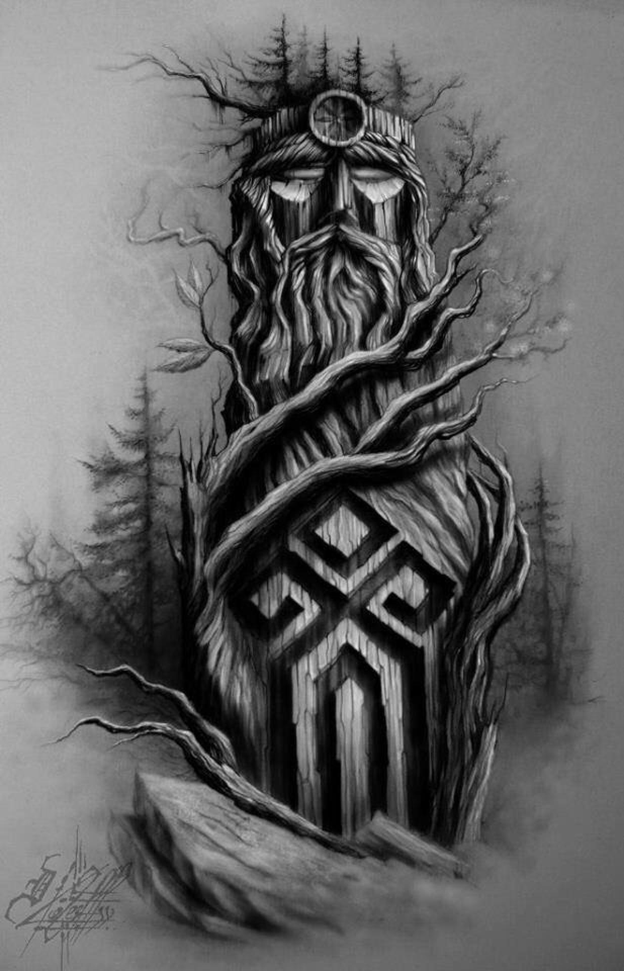Drawn viking awesome Batiks be on Bullshit Viking