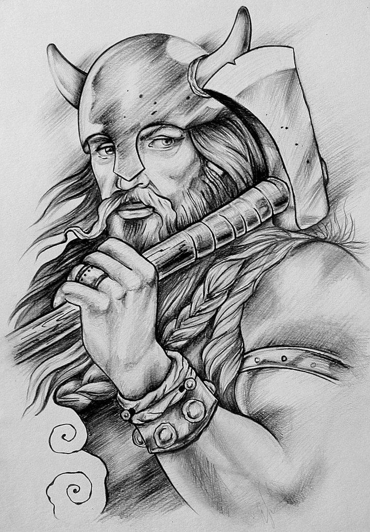 Drawn viking awesome MYTHOLOGY WARRIORS VIKING VIKING Google