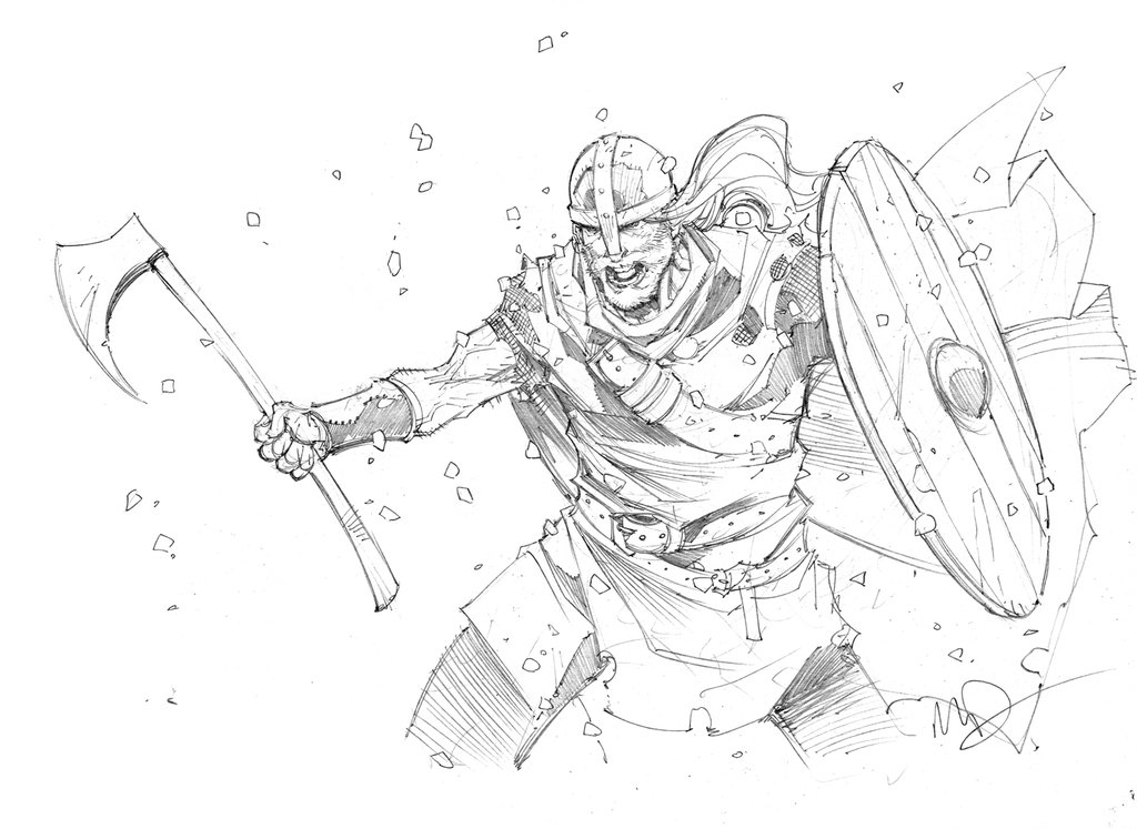 Drawn viking berserker Berserker on 25+ by Pinterest