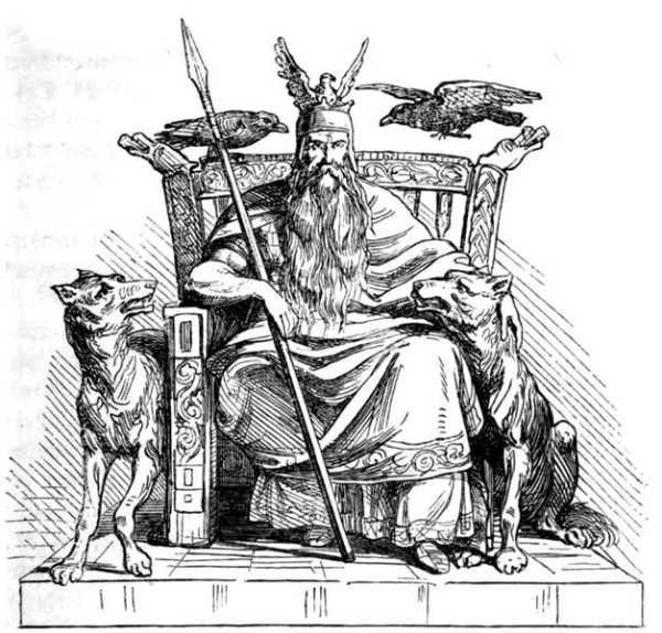 Drawn viking berserker Is to of god believed