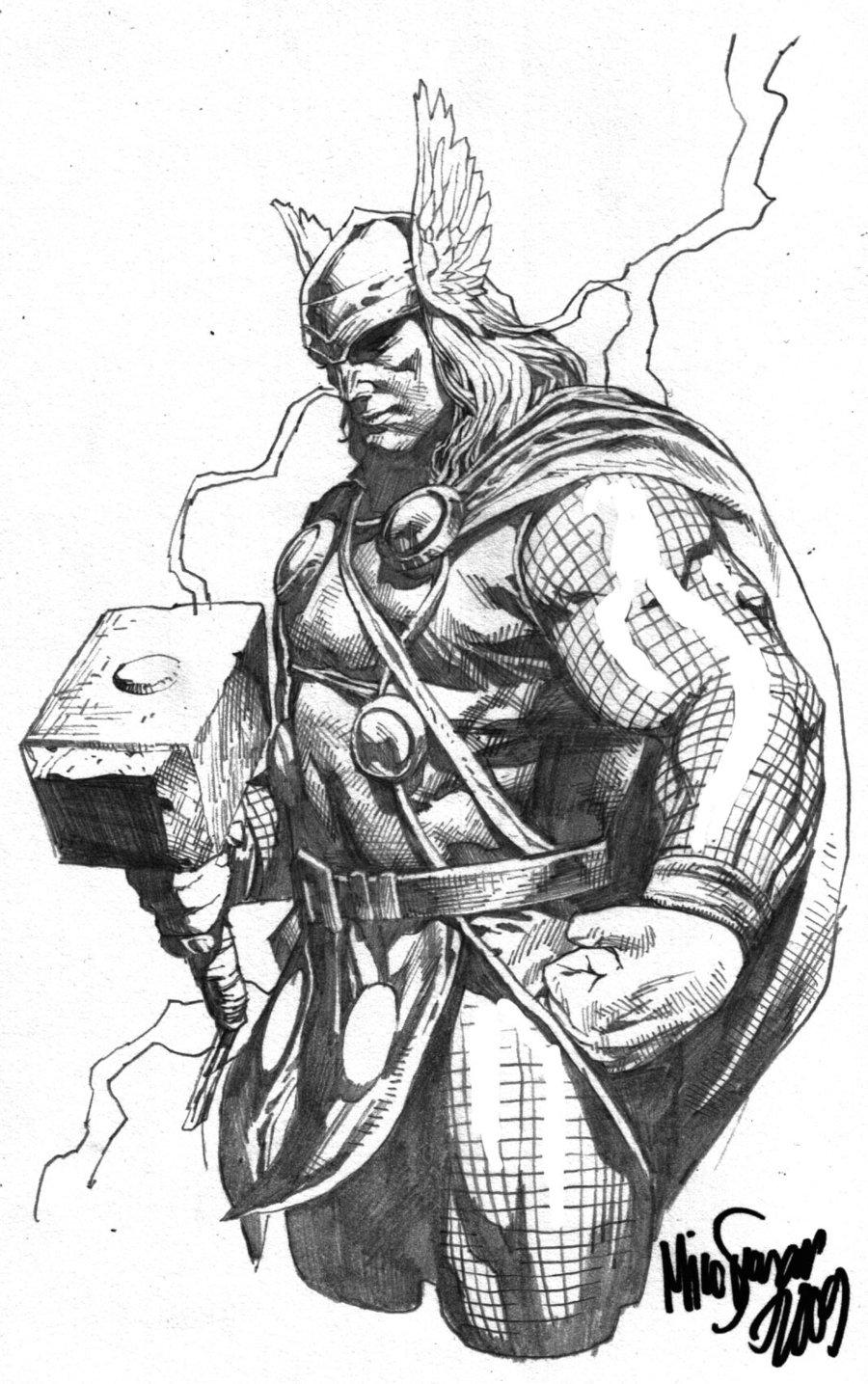 Drawn viking comic And related just CharactersViking Thor