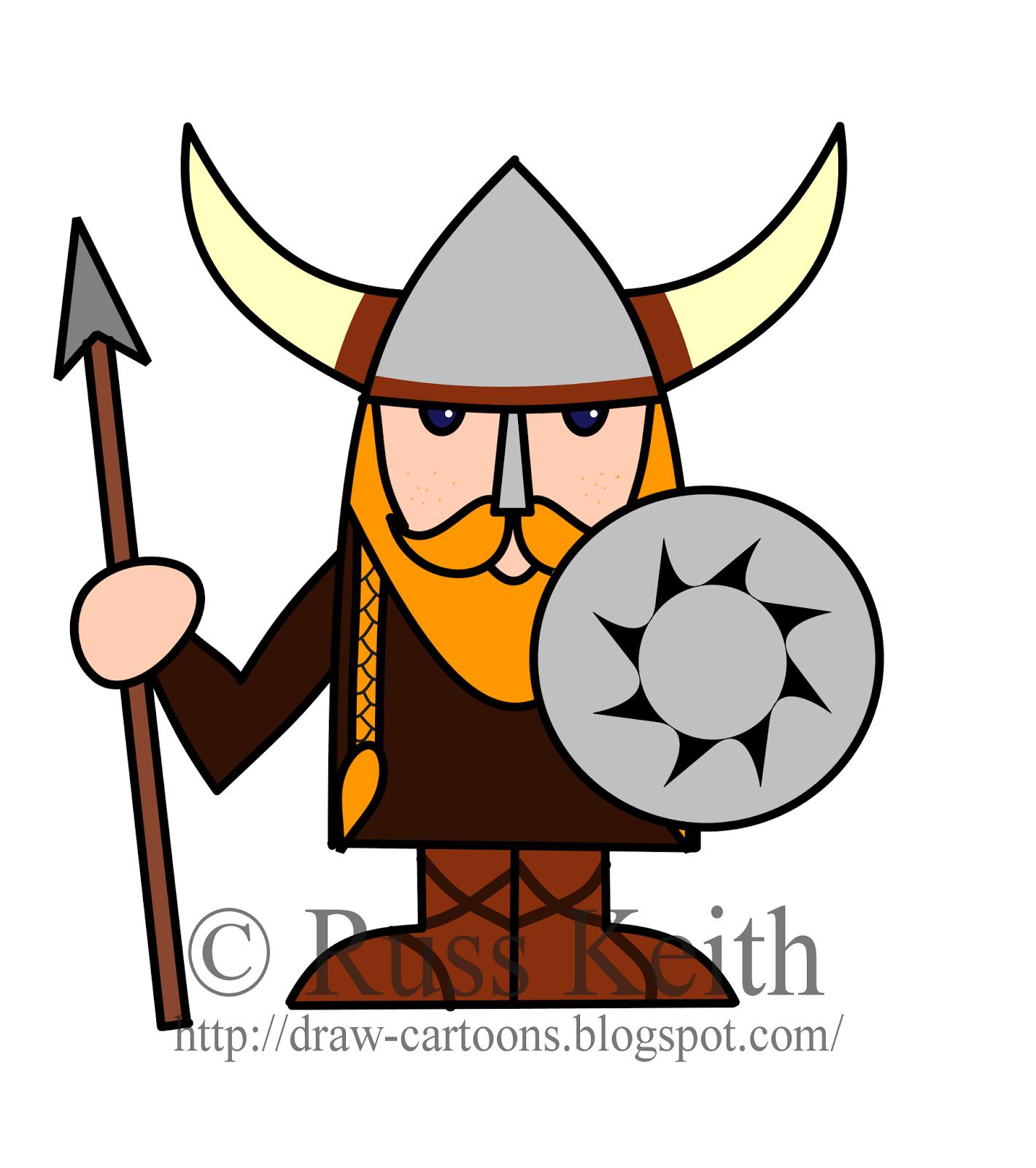 Drawn viking comic Cartoon Bay Drawings Clipart Cartoons