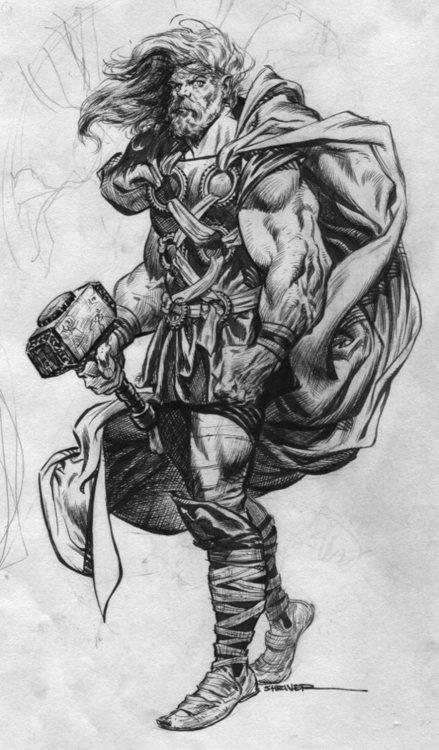 Drawn viking comic This com tattoovorlage deviantart