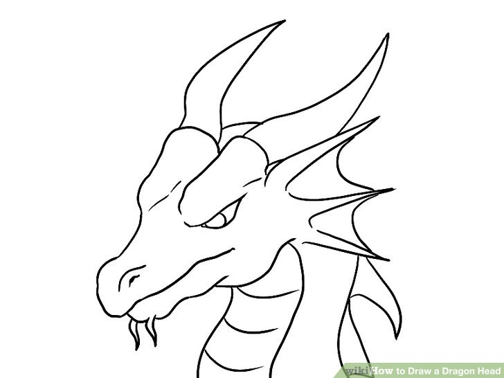 Drawn snake dragon How Dragon Dragon a Step
