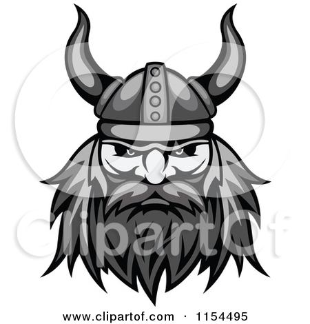 Celtic Warriors clipart vikings Royalty Aggressive Grayscale Viking Grayscale