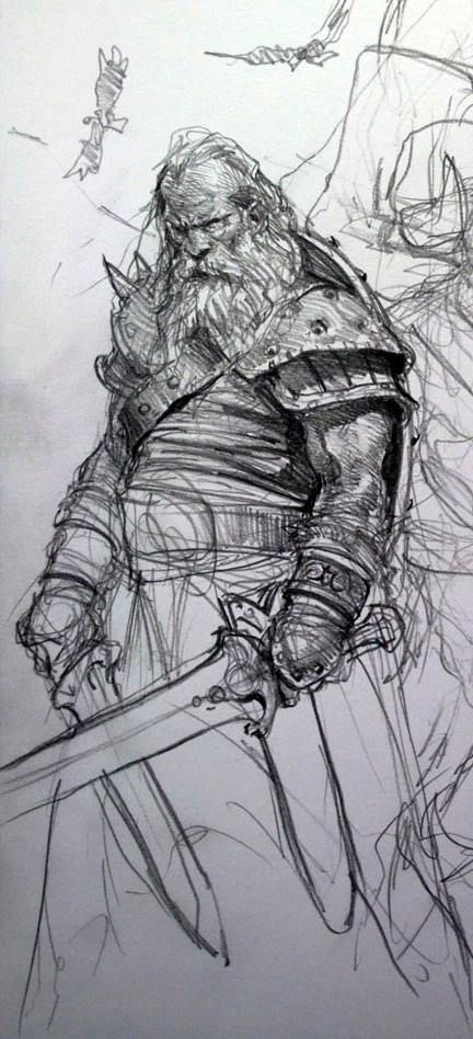 Drawn warrior old Find Pin this Pinterest on