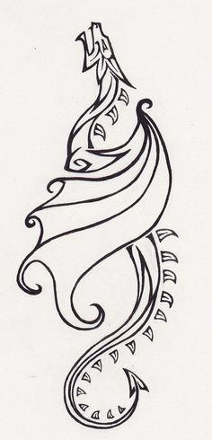 Drawn viking simple #5