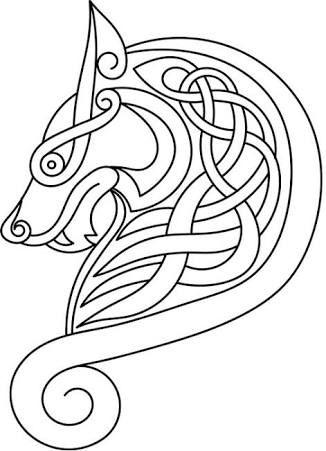 Drawn viking simple #7